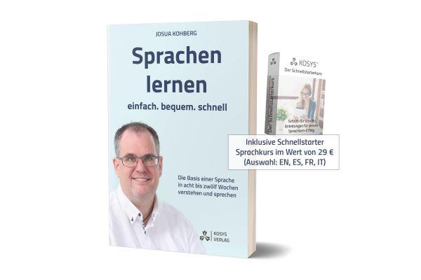 """Buch """"Sprachen lernen - einfach. bequem. schnell."""""""