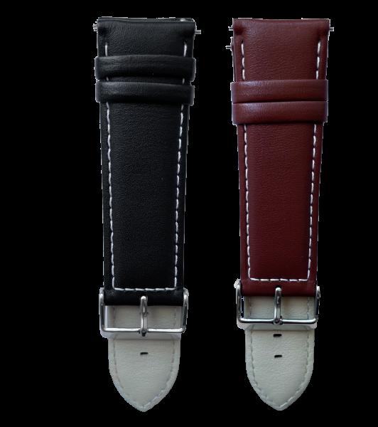 Armbänder neoos®X 2er-Set Leder